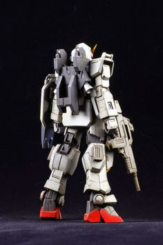 1/144 RX-78G Gundam Ground Type Resin Kit - Painted Build     Modeled by NAOKI