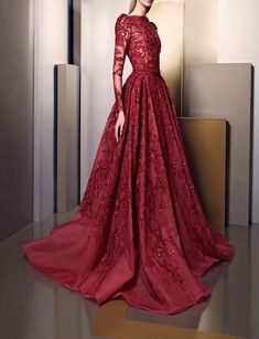 Haute Couture Spring/Summer 2016 By Ziad Nakad Stunning Dresses, Beautiful Gowns, Elegant Dresses, Pretty Dresses, Formal Dresses, Vestidos Fashion, Fashion Dresses, Mode Inspiration, Couture Dresses