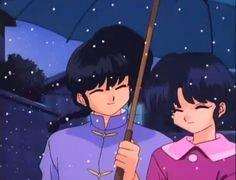 Akane y Ranma en navidad