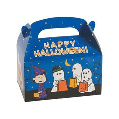 Peanuts® Halloween Treat Boxes - OrientalTrading.com