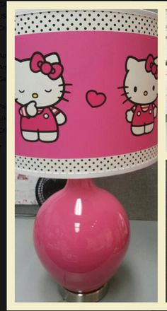 introducing HELLO KITTY GICLEE Table Lamp!