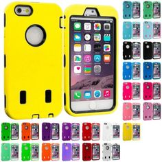 #ebay For iPhone 6 PLUS 5.5 Hybrid Armor Cover Case With Built In Screen Protector - $3.99 (save 43%) #cell #phone #accessories