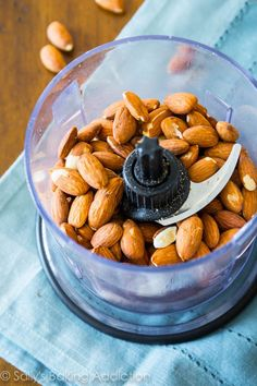 Transform a bag of plain old almonds… | 17 Truly Magical Things You Can Do With A Food Processor