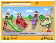 Divisibilidad (Aplicación interactiva de Matemáticas de Primaria) Family Guy, Fictional Characters, Teaching Resources, Maths Area, Educational Games, Fantasy Characters, Griffins