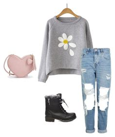 """""""Untitled #11"""" by gianna-rae ❤ liked on Polyvore featuring beauty, Topshop and Steve Madden"""