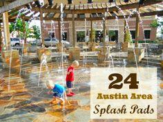 Free Fun in Austin: Austin Area Splash Pads - 2014 Schedules