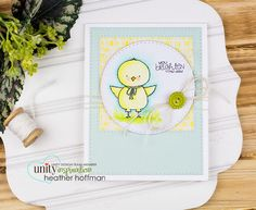 Unity Stamp Company: Bright Little Chick - NEW Stamp of the Week