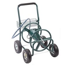 garden water hose reel mobile rolling cart storage holder 175 ft outdoor lawn other pinterest - Garden Hose Reel Cart