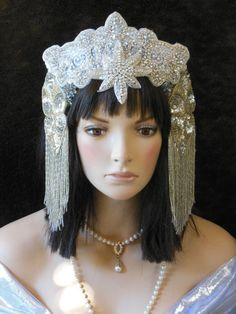 Fantasy Flapper 1920 Vintage New Years Eve Antique by MIMSYCROWNS