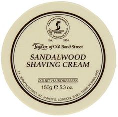 Taylor of Old Bond Street Classic Sandalwood Shaving Cream Bowl, gives you a smooth shave with a richly scented lather. Simply use your favorite shaving brush to whip up a creamy foam for the perfect Best Shaving Soap, Best Shaving Cream, Shaving Brush, Wet Shaving, Shaving & Grooming, Men's Grooming, Cream Bowls, Manicure Set, Fragrance Parfum