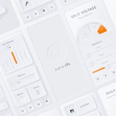 Create your futuristic neumorphic project now.   The neumorphic ui kit for Sketch, Figma & PSD is all you need to make your website or app.  Download now. Link in bio.  #neumorphic #uidesign #appdesign #webdesigntrends #ui #ux #webdesigns #webdesignerlife #dailywebdesign #webflow #learndesign #webdesigners #neumorphism #nerumorphicui Interface Design, User Interface, Ui Kit, Web Design, Graphic Design, Design Art, Design Ideas, Design Inspiration, Applications Mobiles