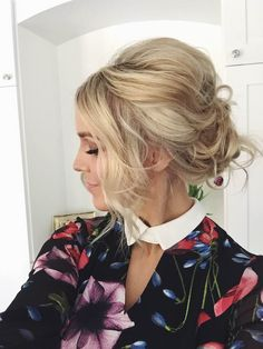 How to: Messy Updo (Prom/Wedding)