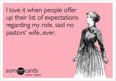 Pastoring Partners Network: Job Description for a Pastors' Wife