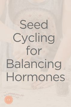 heard of seed cycling? I hadn't up until a few weeks ago when my naturopath recommended it to me to balance my hormones. I'm sharing how to use seed cycling for hormone balance. Fertility Tracker, Seed Cycling, How To Regulate Hormones, Natural Fertility, Hormone Balancing, Menstrual Cycle, Holistic Healing, Health And Nutrition