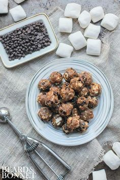 Smore's Energy Bites {Beard and Bonnet} #glutenfree #vegan