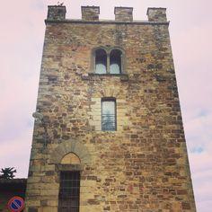 Tower venue Chianti #rapunzel #tuscanwedding