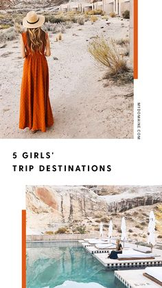 These are the best places to go for a girls' trip.