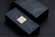 Dry-aged Mullet Roe on Packaging of the World - Creative Package Design Gallery Design Logo, Label Design, Box Design, Brand Identity Design, Package Design Box, Corporate Design, Brand Design, Graphic Design, Perfume Packaging