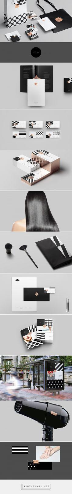 Forma Beauty Shop Branding by Sergey Tarasenko | Fivestar Branding Agency – Design and Branding Agency & Curated Inspiration Gallery