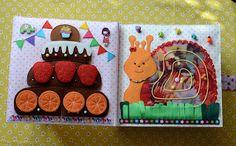 """Hand-Made РАЗВИВАШКИ от Татьяны Елфимовой: Развивающая книжка """"Ягодная для Машеньки"""" Галерея развивающих пособий"""