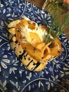 Delicata squash, a splendid side dish…
