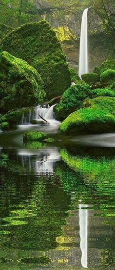 Elowah Falls, Oregon <3 I must visit soon!