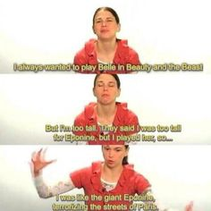 Sutton Foster everyone. (Who would make an outstanding Belle)