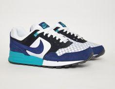 #Nike Air Pegasus 89 Blue Black #sneakers
