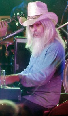 LEON RUSSELL 1980's PHOTO BY: STEVE KAHN Leon Russell, Playing Piano, People Of Interest, I Got You, Blue Eyes, Concert, Music, Color, Legends
