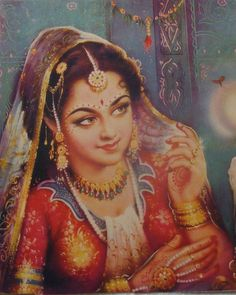 Because of these art I love India and proud to be an Indian. Indian Artwork, Indian Folk Art, Indian Art Paintings, Indian Prints, India Painting, Woman Painting, Fabric Painting, Indian Women Painting, Rajasthani Painting