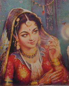 индийская старинная печать