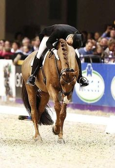 The post performance moment of victory is always my favorite at a horse show!