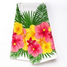SONOMA outdoors Hibiscus Kitchen Towel