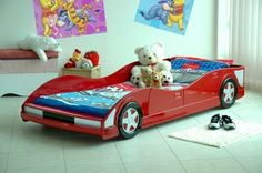 Racing cars beds for boy bedroom | Amazing Interior Design