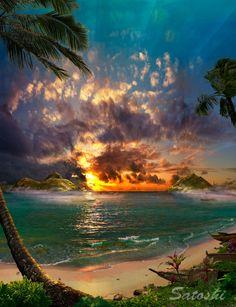 """Breath of Heaven""   by Satoshi Matsuyama                                                                                                                                                                                 More"