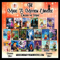Welcome to the Magic & Mayhem Universe! Guess who's up for PREORDERS! We are blasting off again with 20 Amazingly Talented Authors that wrote 20 New Funtastic Tales! Check them all out to Unleash the Magic! #MagicMayhemUniverse #ebook #preorder #UnleashTheMagic