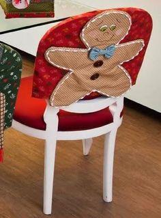 APRENDE HACER FUNDAS PARA SILLAS NAVIDEÑAS PASO A PASO! Holiday Fun, Christmas Time, Christmas Crafts, Christmas Ornaments, Holiday Decor, Christmas Ideas, Frozen Themed Birthday Party, Birthday Party Themes, Wine Bottle Art