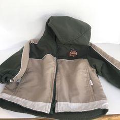 Boy's Al Ray Football Game NFL Khaki Tan Fall Winter Hooded Jacket 24 Months #AlRay #Jacket #EverydayHoliday