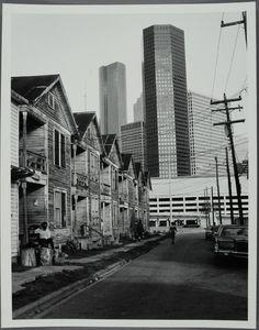 Houston, 4th ward, 1980s
