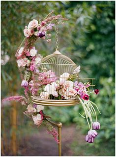 lavender and copper bohemian wedding inspiration by Tickled Pink Brides || The Ganeys