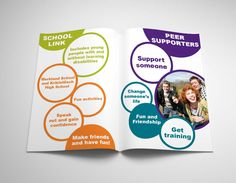 EAST DUNBARTONSHIRE ENABLE LINK. Inner pages on giving out brief information about the Local School Links and Peer Supporters.