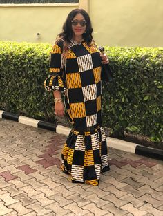African Fashion Boubou Africain, Boubou Senegalais, Tenues Africaines  Femme, Robe Africaine Moderne,