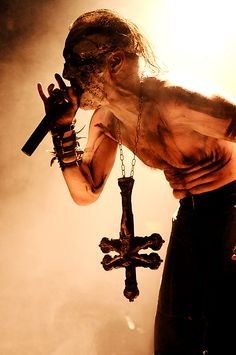 Mayhem - Attila Csihar by RodriguezVillegas on deviantART