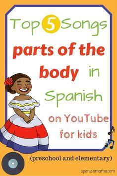 Our Favorite Parts of the Body Songs. Aprende las partes del cuerpo con canciones!