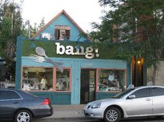 Another neighborhood favorite - bang! in Denver. We love Saturday morning brunch on the patio (and dinner isn't too shabby either)!