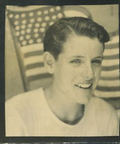 +~ Vintage Photo Booth Picture ~+  All American Boy