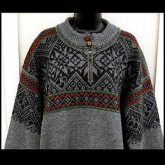 Vintage Dale of Norway Ski Sweater Chest 48 Scandinavian Wool Knit XXL: Removed Vintage Clothing, Vintage Men, Vintage Outfits, Vintage Fashion, Ski Sweater, Sweater Weather, Dale Norway, Long Winter, Winter Sweaters