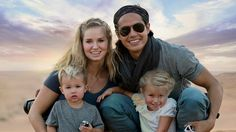 Jessica and Garrett Gee have been traveling with their two young kids since August 2015. Together, they're known as the Bucket List Family.
