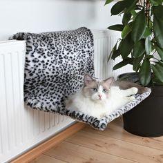 Kedi Peluş Radyatör Yatağı XL