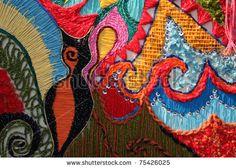 stock photo : kazakh traditional patterns